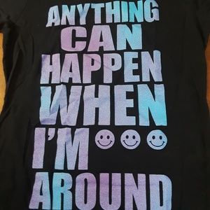 Graphic T | Anything Can Happen.. | Sz XL